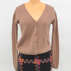 The Babaton Group Wool Cashmere Blend Cardigan